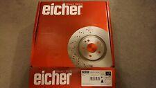Smart Forfour Eicher Brake Discs Front