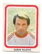 STICKER -  DUSAN BAJEVIC FC VELEZ MOSTAR - FROM 1980'S