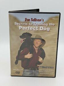 Don Sullivan's Secrets To Training The Perfect Dog DVD 2 Discs Set USED