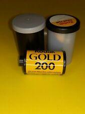 2 Rolls of Kodak Gold 200 - Color print film 135 (35 mm) ISO 24 exposures