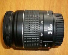 Canon EF 28-80 F 3.5-5.6 Mark 2 (11 ii) lentille Très bon état s'adapte à la plupart EOS Digital RARE