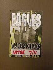 """The Eagles Working Pass For """"Hell Freezes Over World Tour"""" Show On 7/11/94"""