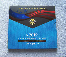 2019 New Jersey - American Innovation $1 Reverse Proof Coin