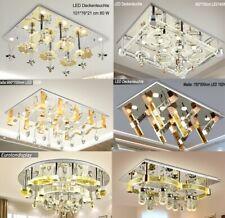 LED Deckenleuchte Kristall Fernbedienung Lichtfarbe wechselbar Beleuchtung A4 A+