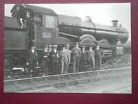 POSTCARD CASTLE CALASS LOCO NO 4077 CHEPSTOW CASTLE AT CHEPSTOW 1926