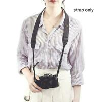 Vintage Classic Black Weave Camera Shoulder Neck Strap DSLR Nikon For Canon D5G3