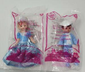 McDonald's Happy Meal Madame Alexander Cinderella Prince Charming Dolls 2010 New