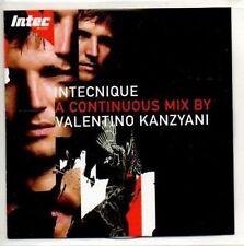(AH510) Intechnique, Mix by Valentino Kanzyani - DJ CD