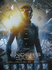Ender's Game Cast Signed  Movie Photo 11x14