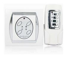 Interruttore centralina con telecomando wireless 4 ch accensione luce senza fili