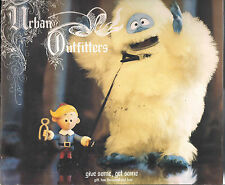 URBAN OUTFITTERS HOLIDAY CHRISTMAS RUDOLPH RED NOSE RAINDEER ABOMINABLE SNOWMAN