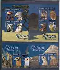 GAMBIA  2014   AFRICAN BIRDS OF PREY  MNH