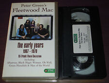 VHS PETER GREEN'S FLEETWOOD MAC The early years (Pne 95 UK) psych PAL RARE NM!