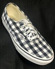 VANS Checkerboard Shoes ~ Mens 7.5 Womens 9 ~ Lace Up Black White Off The Wall