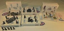Liberty Falls & Americana Miniature Pewter Collection dated 93 - 97 large lot