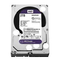 """WD Purple 2 TB HDD 5400 RPM SATA 6 Gb/s 64 MB 3.5 """" Internal Hard Drive WD20PURZ"""