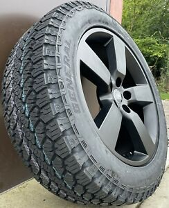 """Genuine Land Rover Discovery 4 Style 5098 20"""" Alloy Wheels & Grabber AT3 Tyres"""