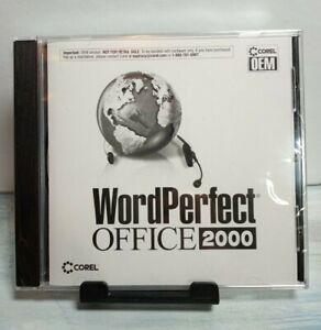 Corel WordPerfect Office 2000 New Sealed