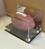 ULTRA CLEAR, UV Protect Football Display Case Stand Holder, ACFB18M