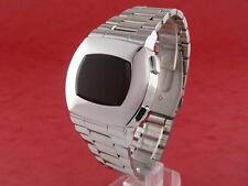ASTRONAUTA ANNI 70 anni'70 vecchio VINTAGE STILE LED LCD Digitale Retrò Orologio 12 24 ore S