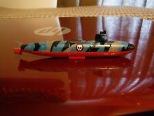 "1994 Micro Machines toy Mini Military Camo Nuke Submarine war ship 2.75"" long"