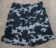 Adidas Blue Camo Camouflage Medium Shorts Free Delivery