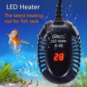 Aquarium Water Heater Electric Heating Rods Digital Temperature Controller