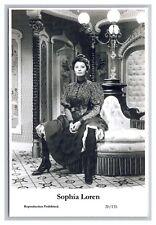 Sophia Loren (C) Swiftsure Postcard year 2000 modern print 20/135 glamour photo