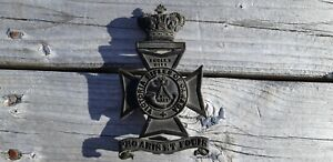 Victorian Helmet Plate for the Victoria Rifles
