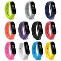 For Xiaomi Mi Band 3 Silicone Strap Band Wristband Watch Replacement Bracelet AU