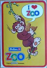 Aufkleber: Bahlsen ZOO LEIBNIZ - Butterkeks, alter seltener Sticker - Top erh.