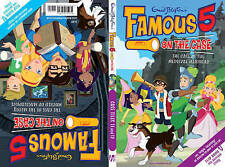 Famous 5 on the Case( 11 & 12) 2 stories in 1 Flip Book by Enid Blyton P/B Book