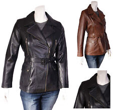 Women's Casual Leather Biker Coats & Jackets