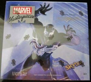 2020 Upper Deck Marvel Masterpieces Sealed 12 Pack Hobby Box Dave Palumbo