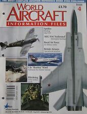 World Aircraft Information Files Issue 4 Supermarine Spitfire cutaway & poster
