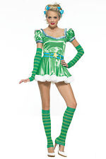 EMERALD GIRL FANCY DRESS Leg Avenue 83414 Large
