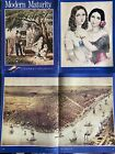 Modern Maturity Magazine Currier And Ives Edition Art Clippings 1975 Lot Of 3
