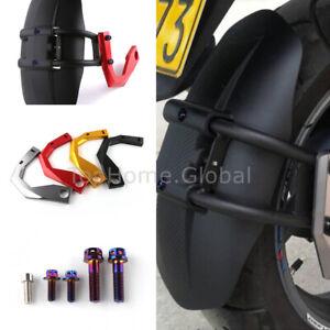 For Kymco AK550 Rear Hugger Fender Mudguard Wheel Cover Splash Dust Guard Wing