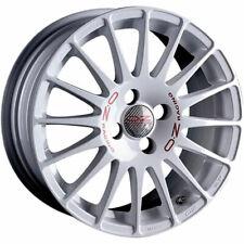 ALLOY WHEEL OZ RACING SUPERTURISMO WRC 6X14 4X108 ET15 CITROEN C2 WHITE RED  7F2