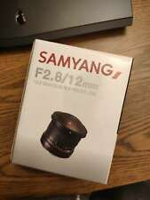 Samyang 12mm F2.8 Super Wide Angle Lens for NIKON
