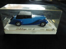 SOLIDO 1/43 METAL MODEL DELAHAYE 135 M 4048 BLUE