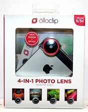 Olloclip 4-in-1 Lens System for iPhone 5/5s - Red/Black NEW IN BOX