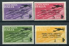 Kingdom of Italy 1934 Flight Rome Buenos Ayres complete set MNH ** Saxon s1511