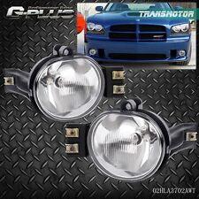 For 02-08 Dodge Ram 1500 2500 3500 Pickup Clear Bumper Driving Fog Lights Kit