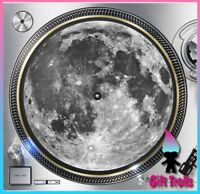 "Full Moon Lunar Turntable Slipmat - 12"" LP Record Player, DJ"