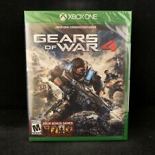 Gears of War 4 with GW Collection Digital Copy (Microsoft Xbox One) BRAND NEW
