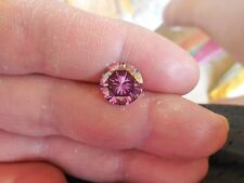 3.80 CT 10.45 mm VVS1 Fiery Passion Pink Color Round Loose Moissanite