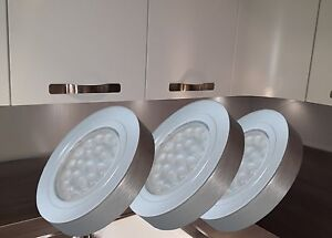 LED Unterbauleuchte Vitrinenleuchten Aufbauleuchten Möbelleuchte Set2355-56/4189