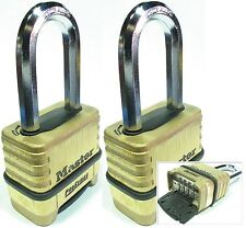 Combination Lock Set Master 1175LH (Lot 2) Resettable Long Brass Sealed Carbide