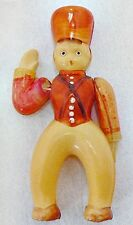 VINTAGE CELLULOID TOY SOLDIER WITH MOVEABLE ARMS